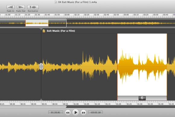 аудиоредактор на Mac - фото 2