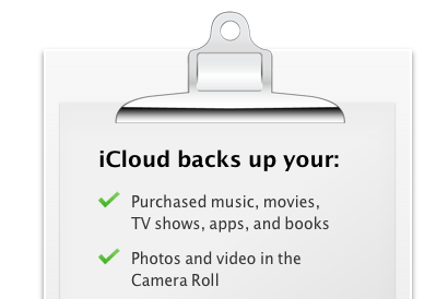 how to clear icloud backup space