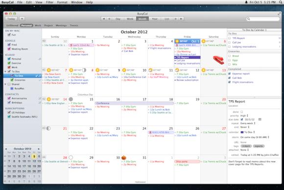Calendar Apple : Review busycal remains superior to apple s calendar