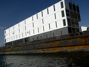 Google barge