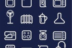 Icons - household appliances