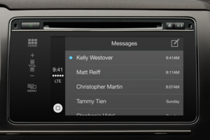 carplay messages