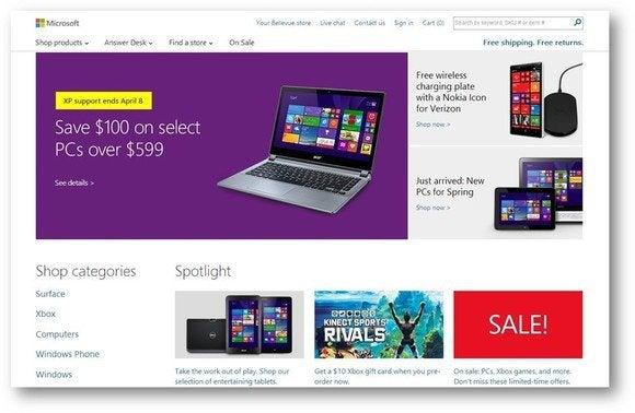 Microsoft Windows XP deal