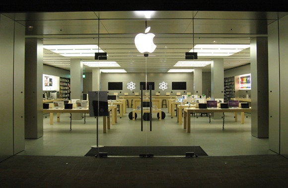 apple storefront