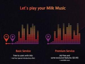 milk music