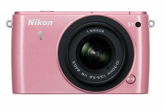 nikon 1 s1 pink front