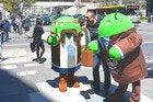 google io mascots