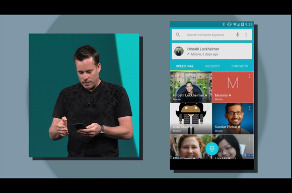 Google I/O Android L personal unlocking smartphone