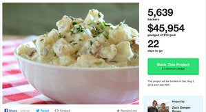 kickstarter potato salad main