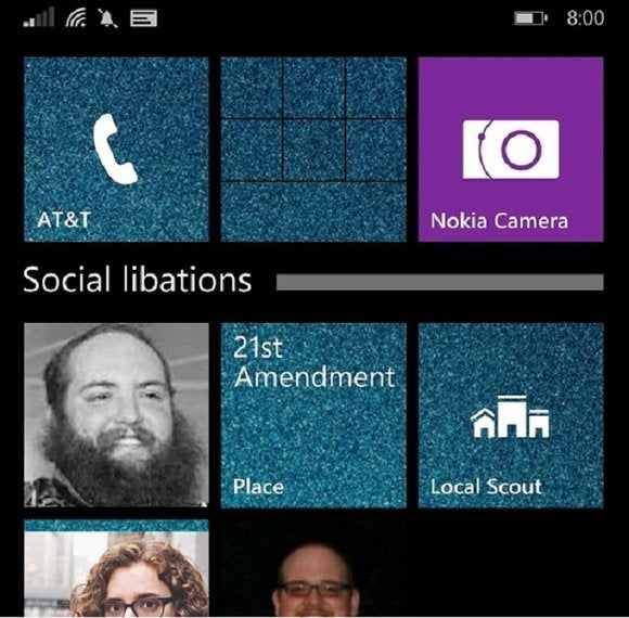 windows phone 8.1 update folder large