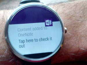android wear onenote