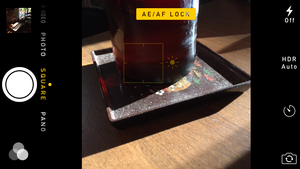 ios8 camera lock exposure