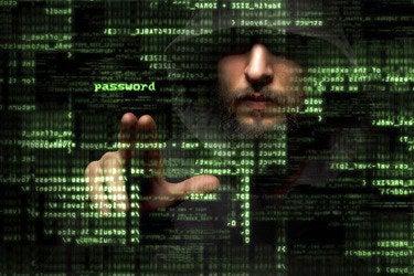 Hacking stealing password data.