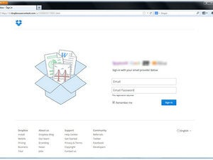 dropbox phishing