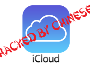 iCloud hacked by Chinese