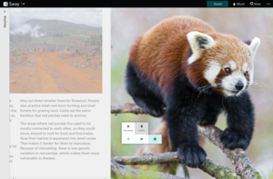 Microsoft Sway highlight