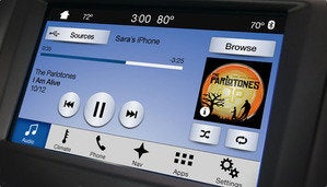 ford sync 3 music