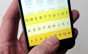 mobile phone get new keyboard