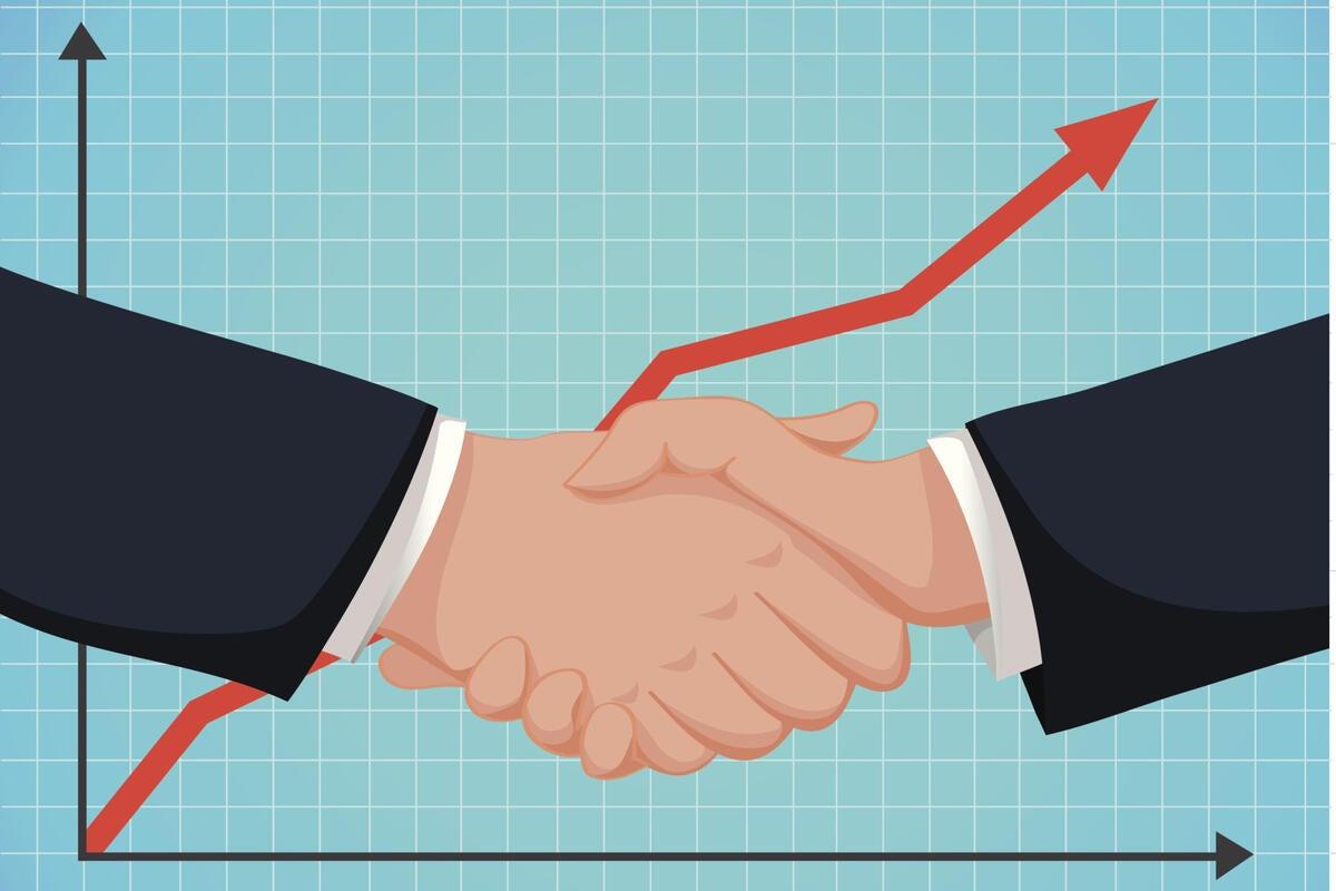 2015 it workforce hiring trends handshake arrows agreement