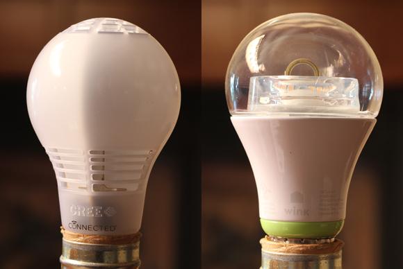 Cree vs GE Link LED light bulbs