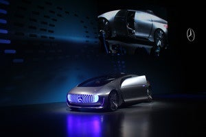 mercedes benz f015 self driving car