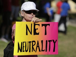 Pro-net neutrality rally in 2014