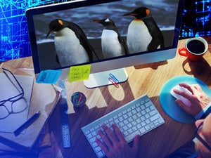 linux desktop computer
