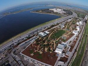 facebook aerial drone shot