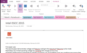 onenote actual notes primary image intel