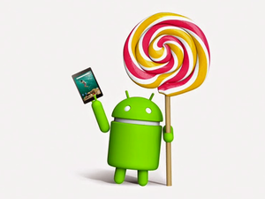 android lollipop nexus 9