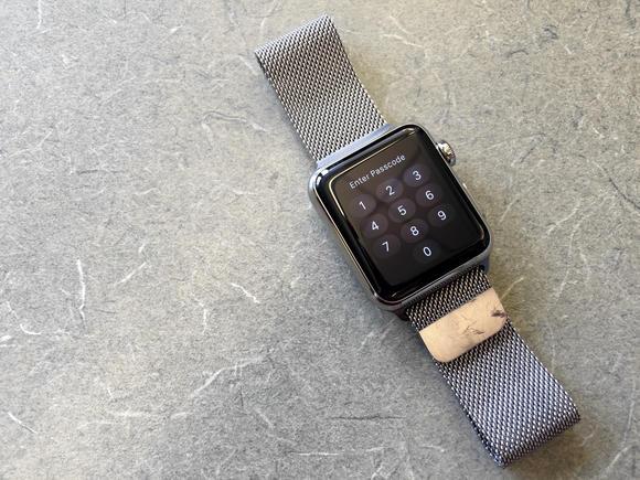 apple watch passcode