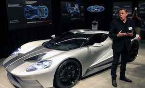 Christopher Svensson A Recently Retired Ford Motor Co Designer Who Oversaw The Development Of Numerous Vehicles Including The Gt Supercar D Saturday