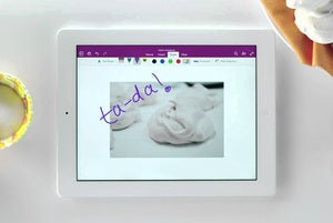 onenote ipad primary