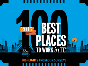 Computerworld Best Places to Work in IT 2015 [ cover slide ]