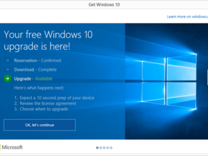 windows 10 upgrade timeline