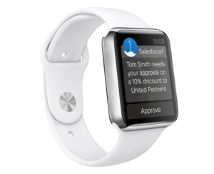 salesforce apple watch
