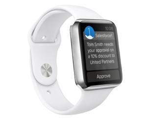 salesforce apple watch