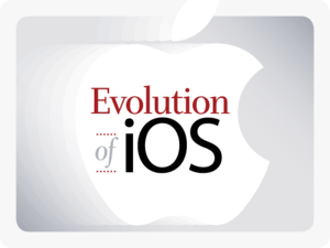 Evolution of iOS [cover]