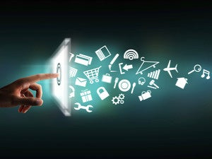 mobile apps and touch screen