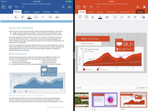 office updates for the ipad 2