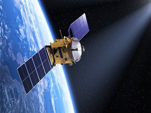 satellite space communication