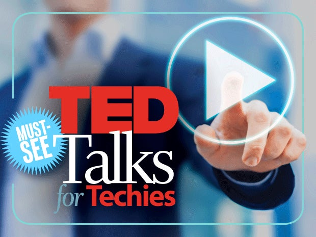 Must-seee TED Talks for Techies [slideshow cover]