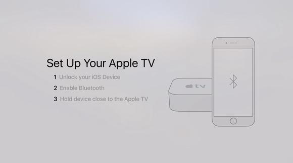 appletv device setup