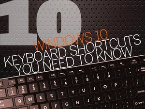 10 Windows 10 keyboard shortcuts - intro title