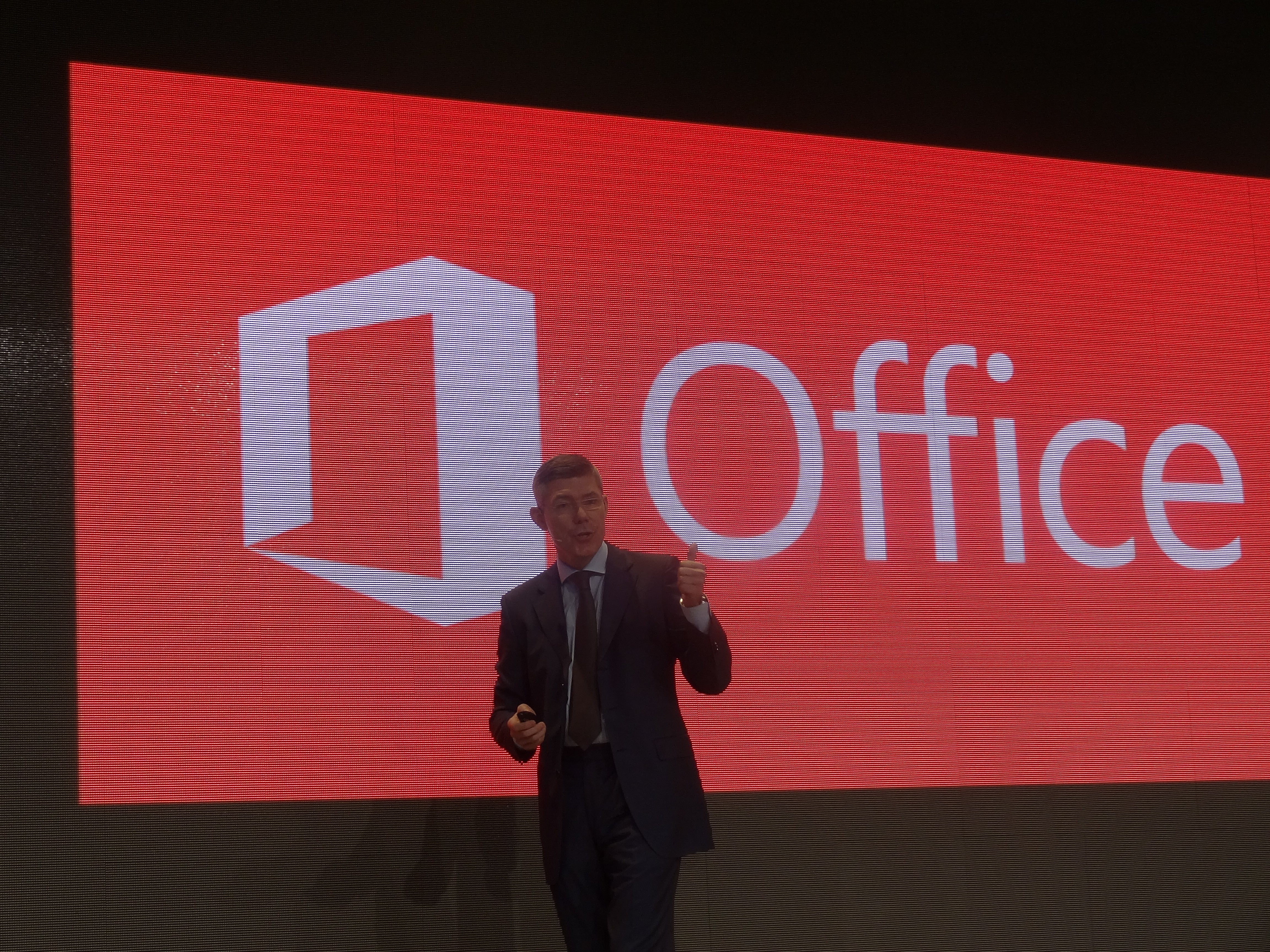 Microsoft Office at Cebit