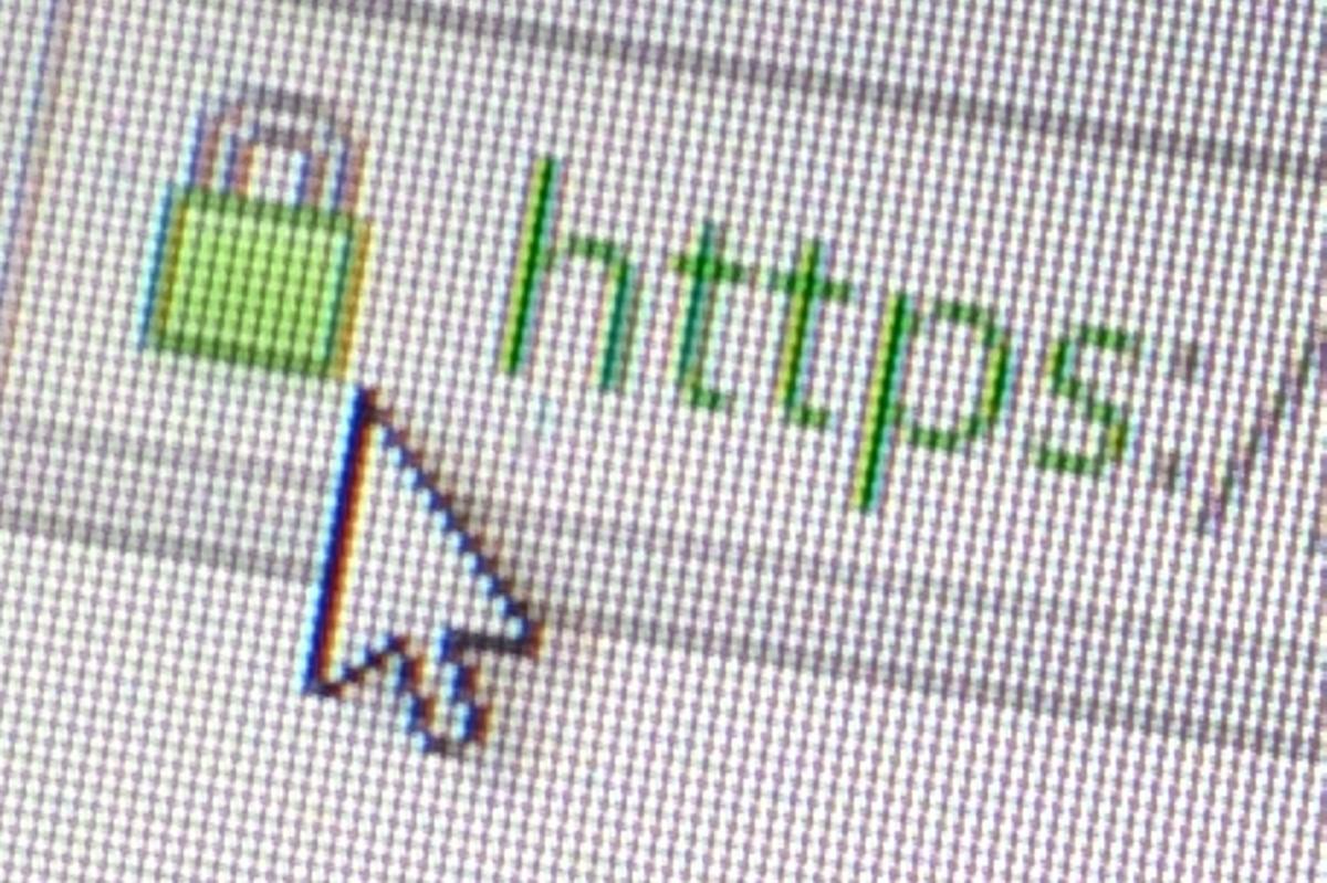 SSL padlock icon