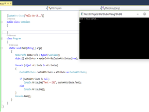 Attributes in C#