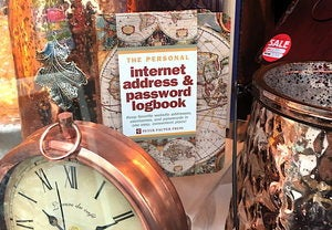 password log book james thomson