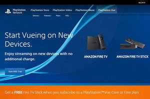 Sony PlayStation Vue