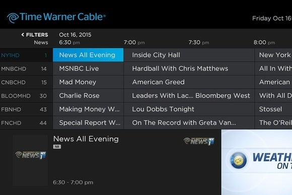 Time Warner Cable Makes Streaming Service Official but